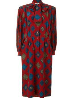 printed dress  $659 #farfetch #classic #DesigerClothing