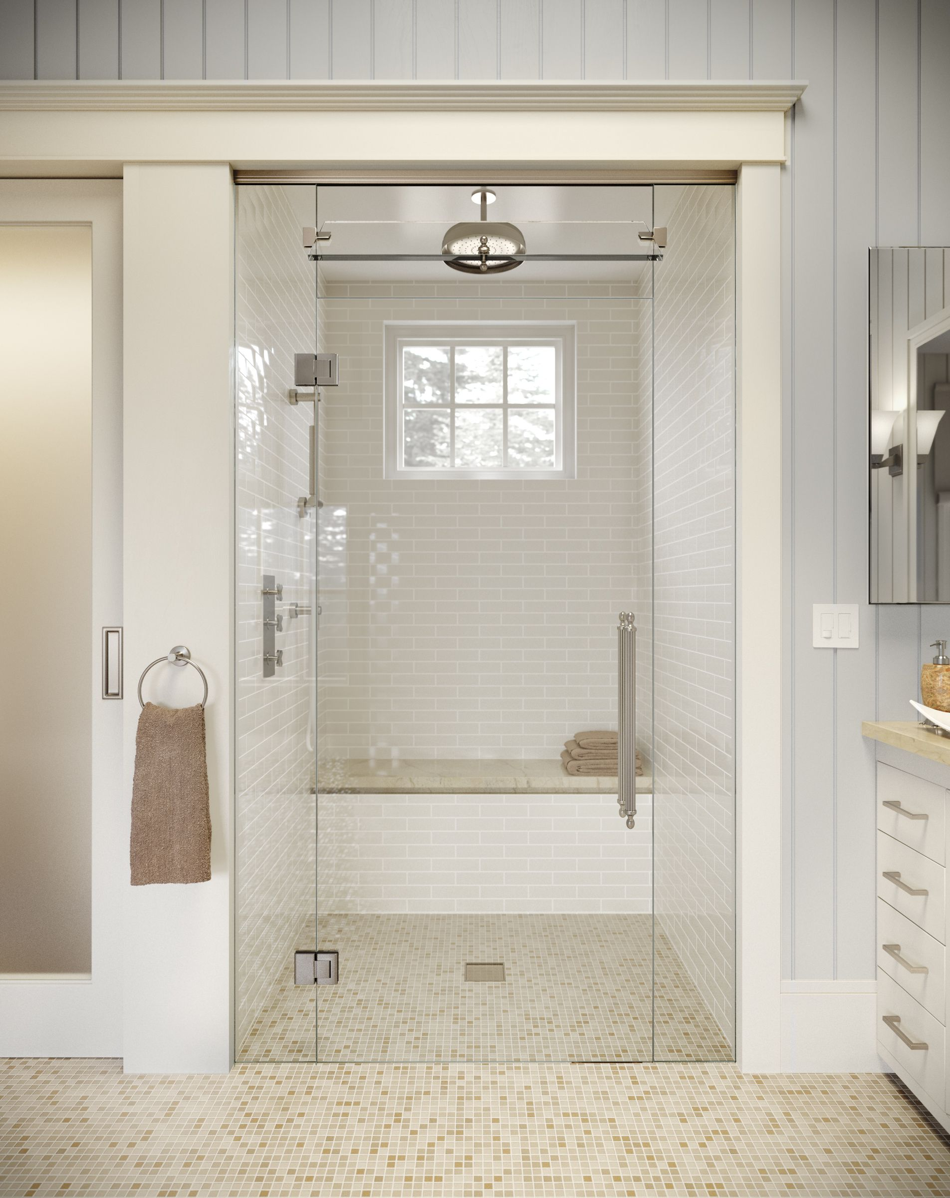 Purchasing a frameless shower enclosure is often the most ...