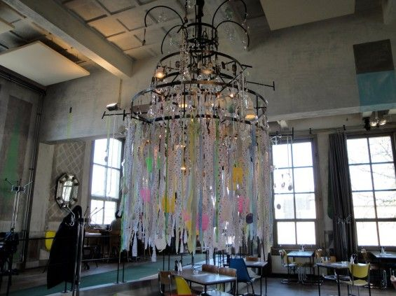 Possibly the coolest chandelier i have ever seen flea market chic possibly the coolest chandelier i have ever seen aloadofball Choice Image