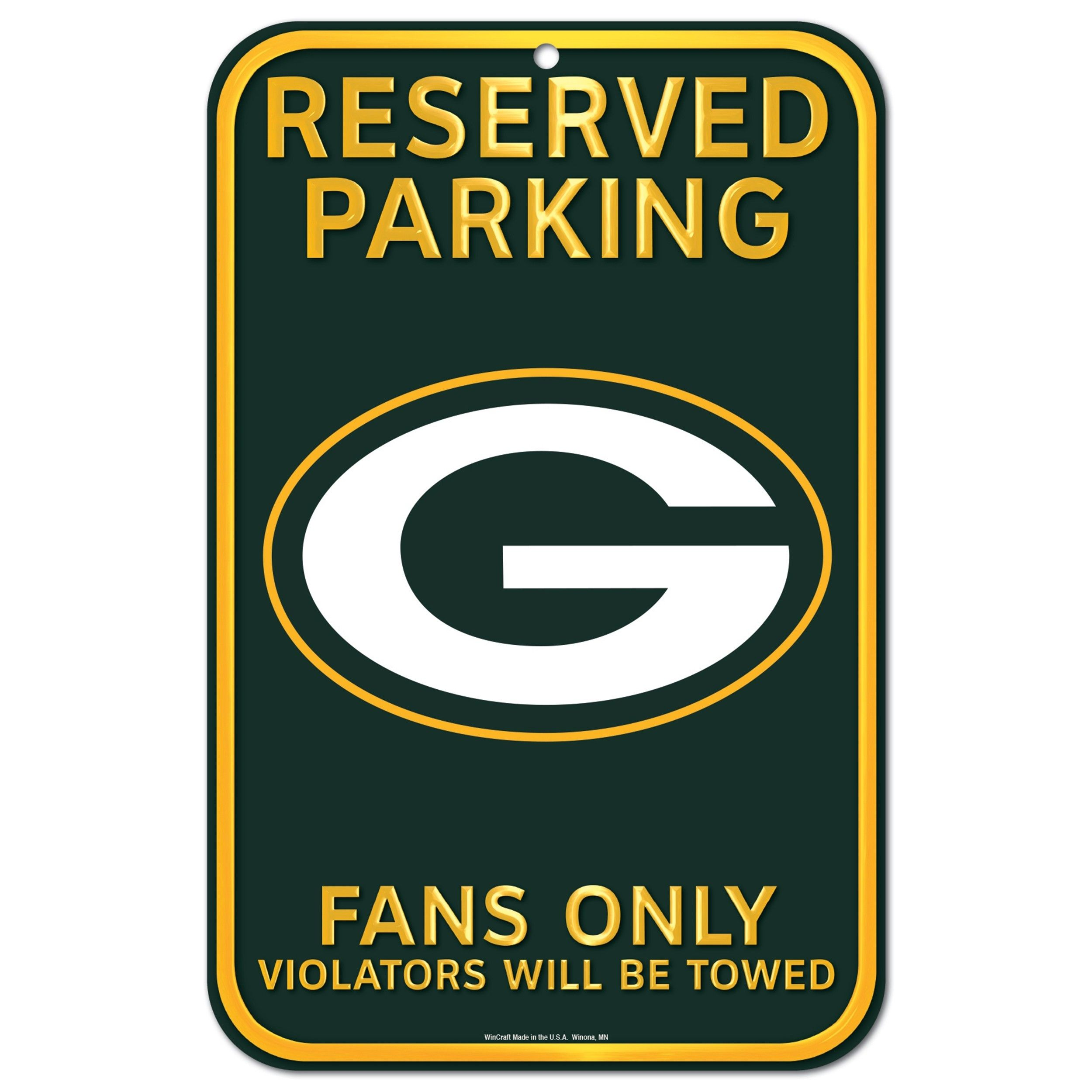 Packers Reserved Parking Sign Green Bay Green Bay Packers Wallpaper Green Bay Packers Logo