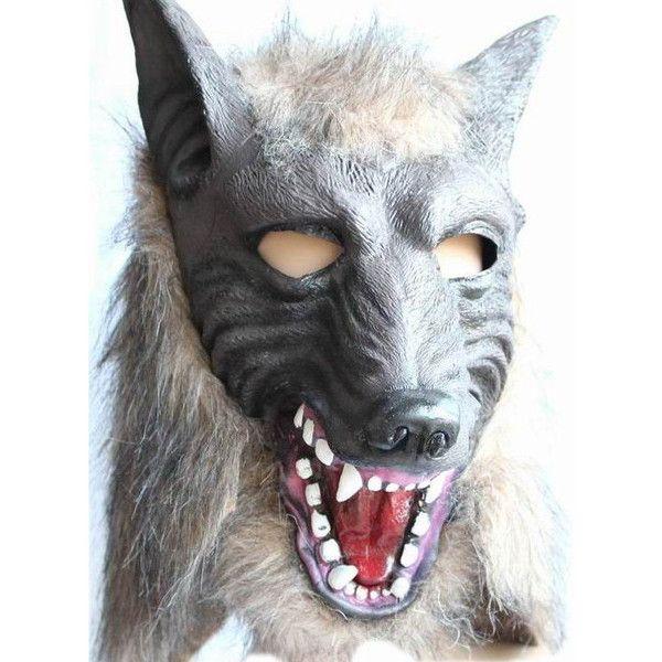 Halloween COS Mask Animal Head Cover Halloween Holiday Decor Hallo