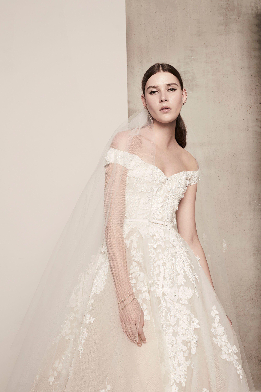 Elie Saab Bridal Spring 16 Fashion Show  Hochzeitskleid tüll