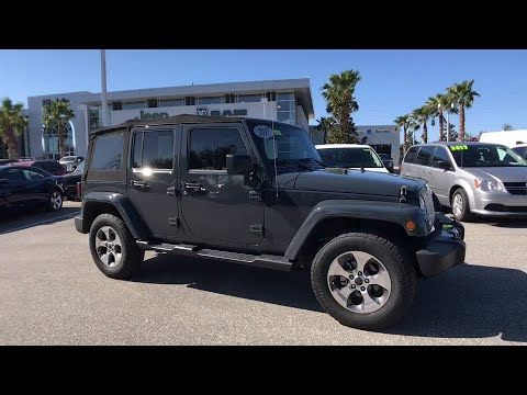 2017 Jeep Wrangler Unlimited Orlando Deltona Sanford Oviedo Winter