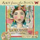 Art from the Soul 2016 Wall Calendar: 9781416297932     Calendars.com