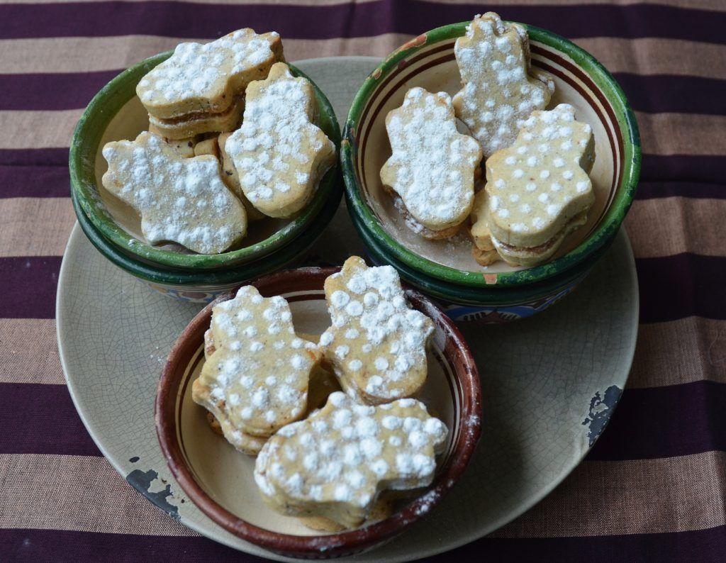 Ras el hanout cookies with argan oil