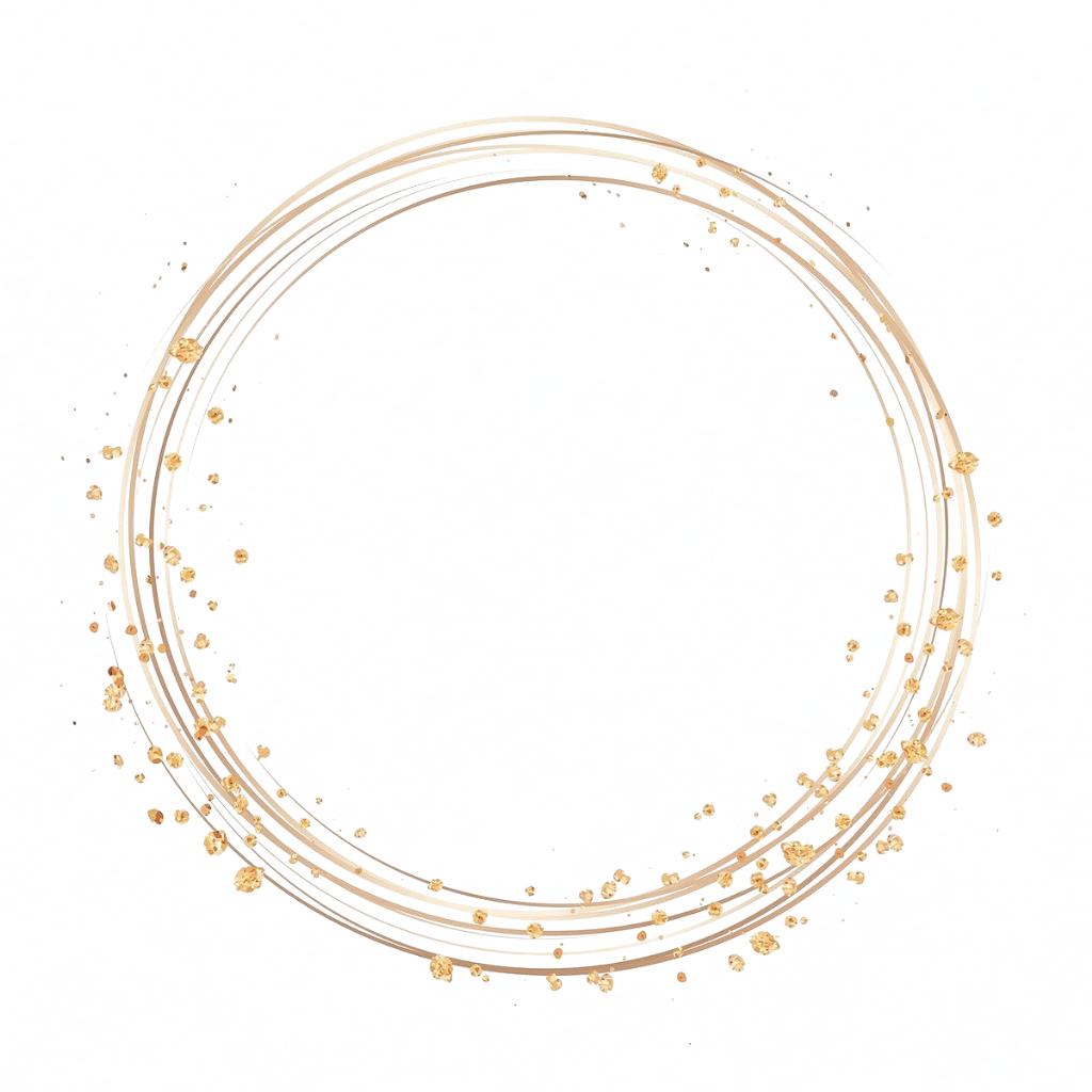 Gold Circle Frame On A Pastel Pink Background Vector Free Image By Rawpixel Com Minty Logotipo De Loja Logotipo Floral Ideias Para Logotipos