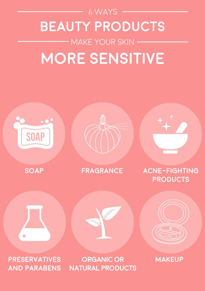 Sensitive skin? 6 ways to avoid having a reaction to beauty products