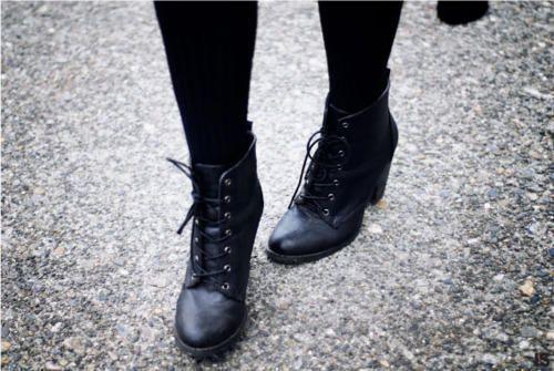 hitapr.org cute black combat boots (04) #combatboots | Shoes ...