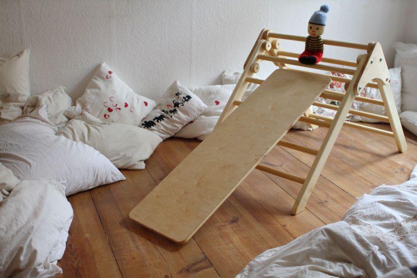 Kletterdreieck Selber Machen : Sprossendreieck nach pikler kletterdreieck klappbar mit