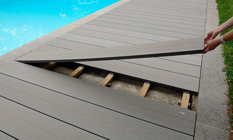 Deck De Madera Wpc Decking Deck Piscinas Terrazas