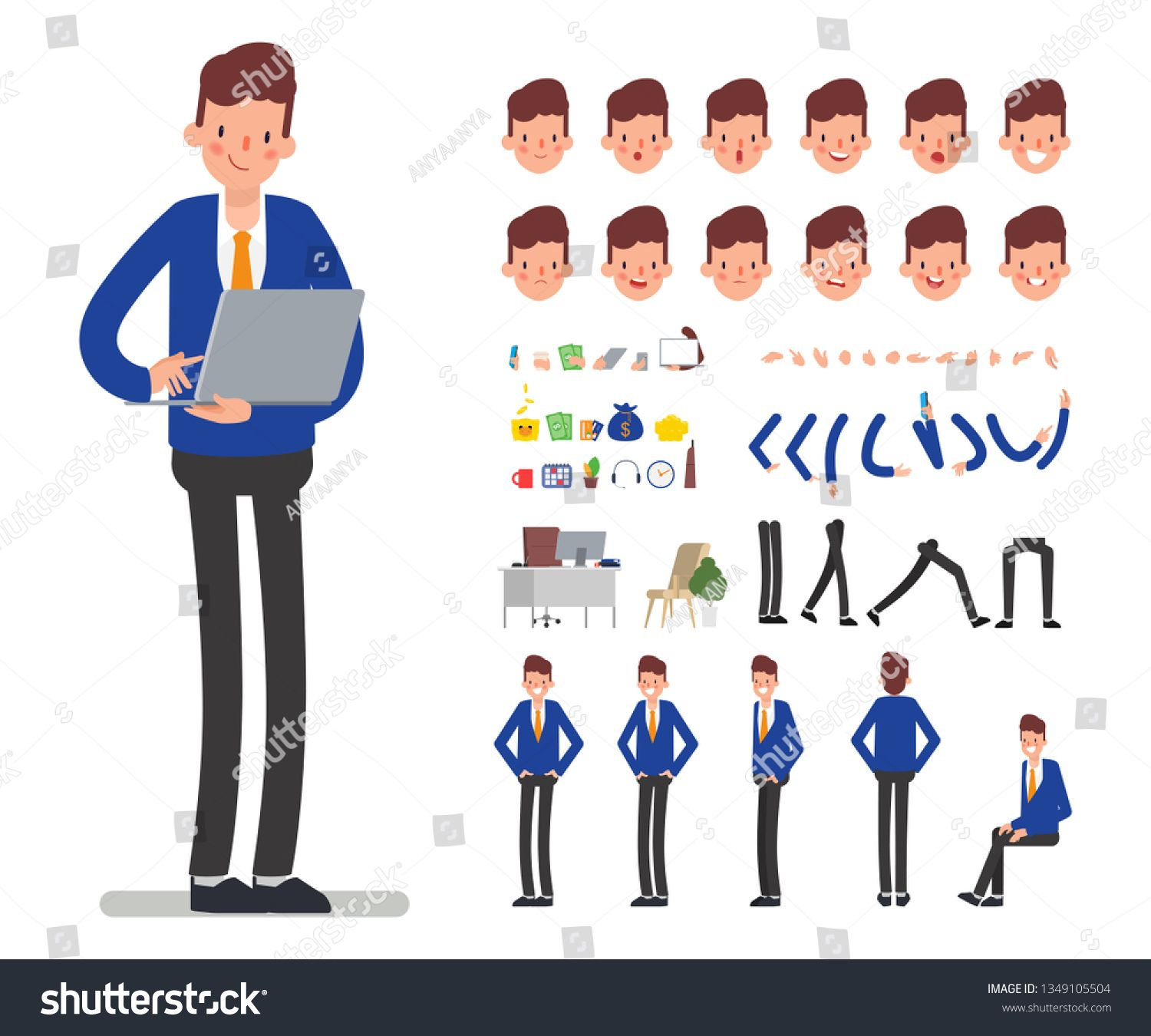 45+ Animated People Clipart Blind Man Wearing Robe