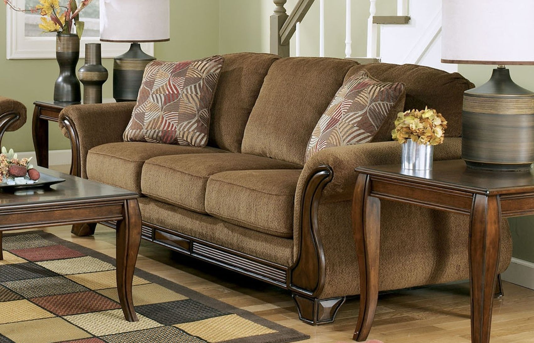 Ashley Furniture Brown Couch