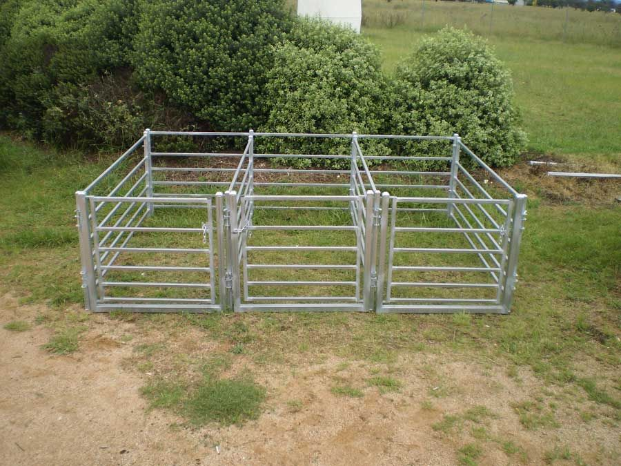 Build your own sheep or goat holding pens. | Goat farming ...