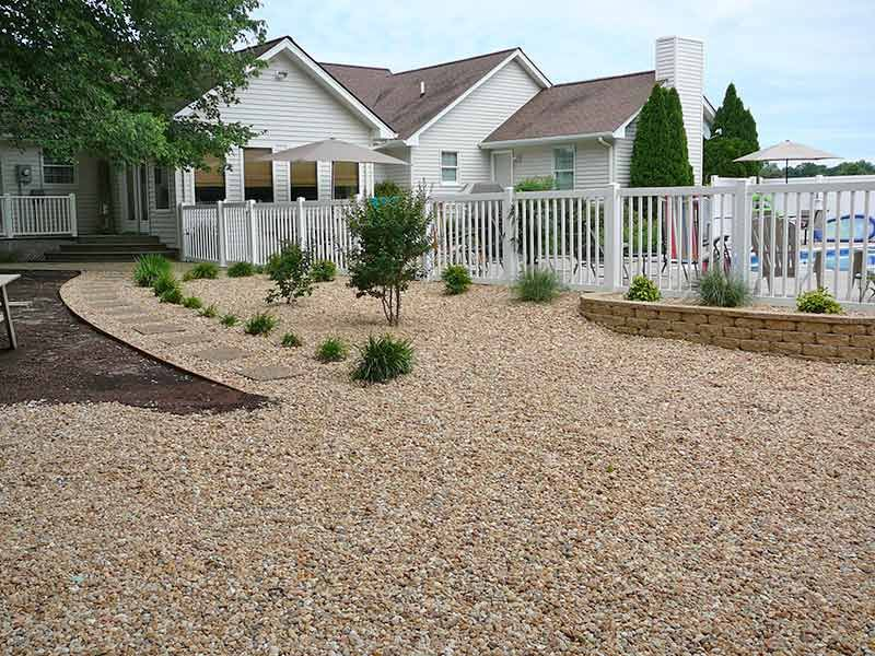 No maintenance landscape ideas google search no for Plants that require no maintenance