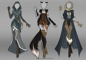 Deviantart More Like Closed Adoptable Outfit Auction 7 By Risoluce Fantasy Clothing Anime Outfits Drawing Clothes