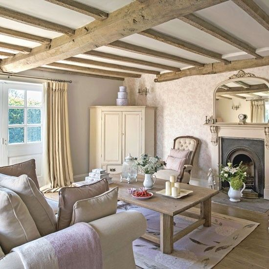 Country Farmhouse Living Room: Step Inside This Beautiful Staffordshire Farmhouse