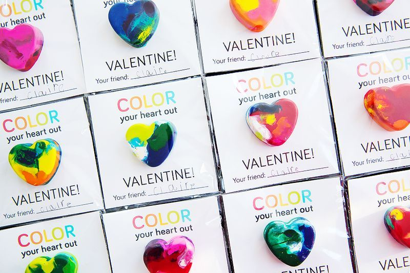 Color Your Heart Out Valentine (Free Printable)