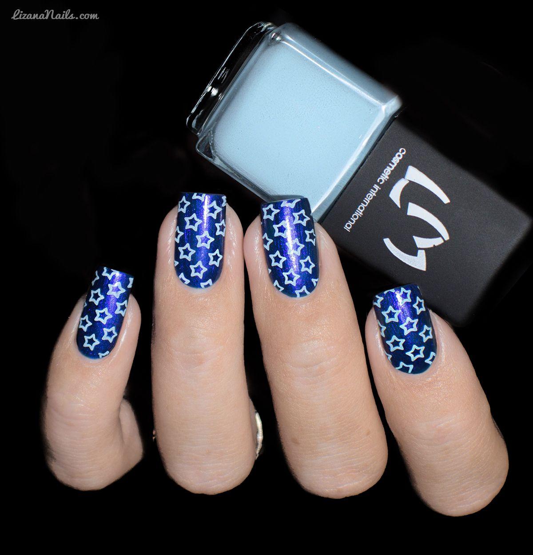 LMcosmetic - Vernis Stamping 5 Bleu Ciel
