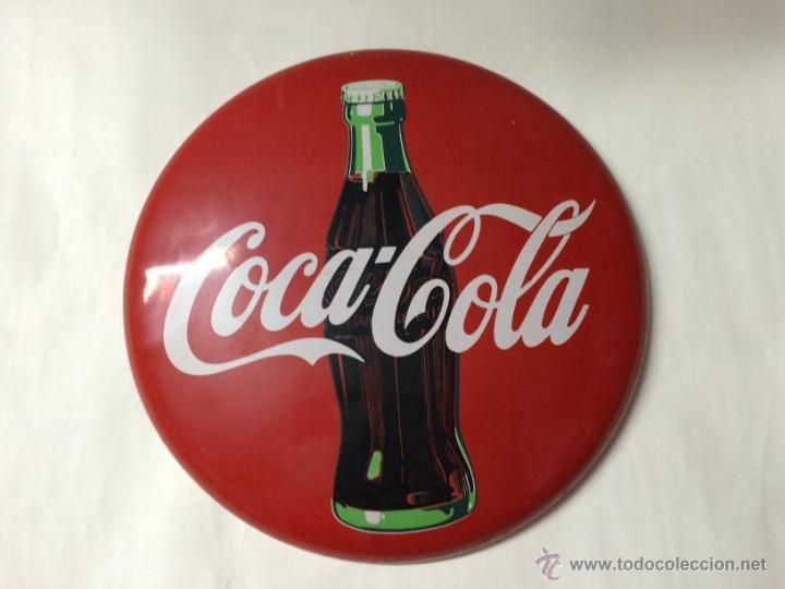 Chapa de coca cola en todocoleccion coleccion coca cola - Chapa coca cola pared ...