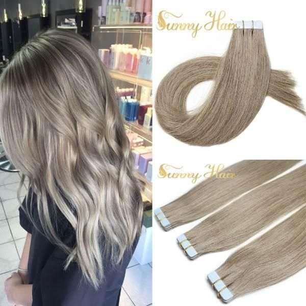 Sunny Tape In Extensions Are 100 Human Hair Look Natural And Feel