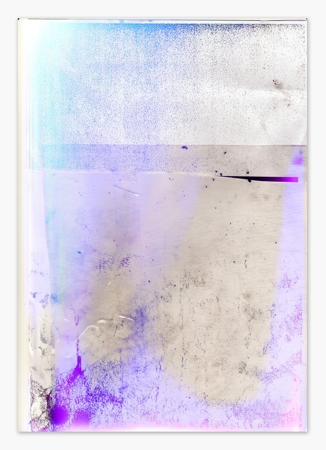Paul Kneale, Post-post-post production. Perfect Hardcore Documentation, 2015 Digital print on canvas  152.4 x 107 cm / 60