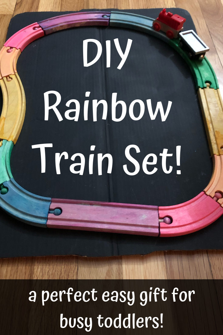 99a5e813735 DIY Rainbow Train Set for Toddlers! - Firefly Magic