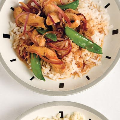 Spicy Orange Stir Fry. This looks good and easy