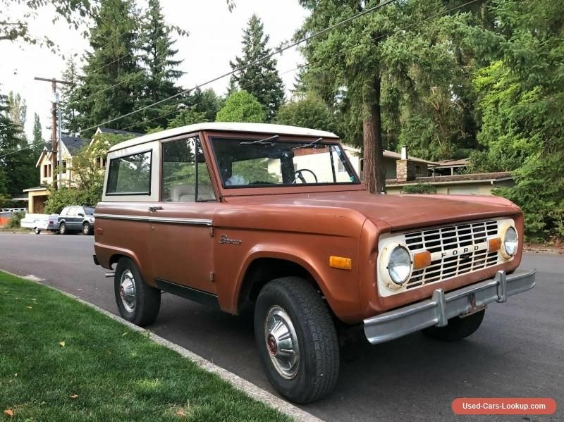 Car For Sale 1973 Ford Bronco