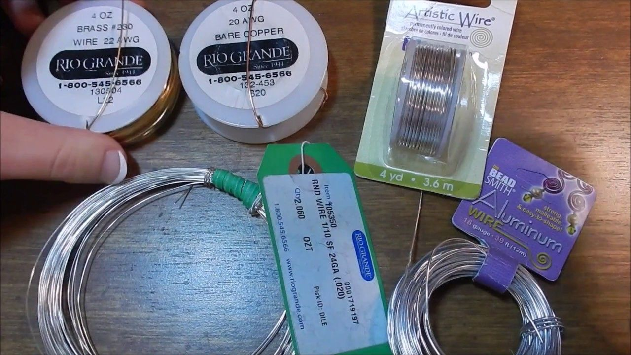 Beginning Wire Wrapping : Budget Wires and Types | wire jewelry ...