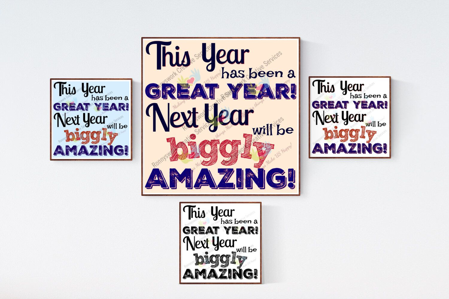 New Year Printable Art, Inspirational quote, Great Year ...