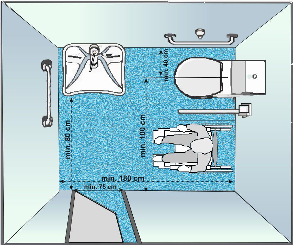 Normative Bagni Disabili Banheiro Para Cadeirante Estilo De