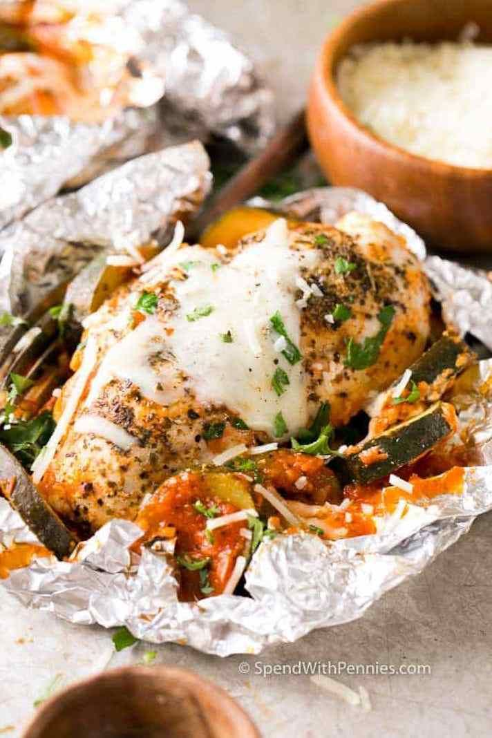 Photo of 18 Foil-Pack Dinners For Easy Weeknight Grilling