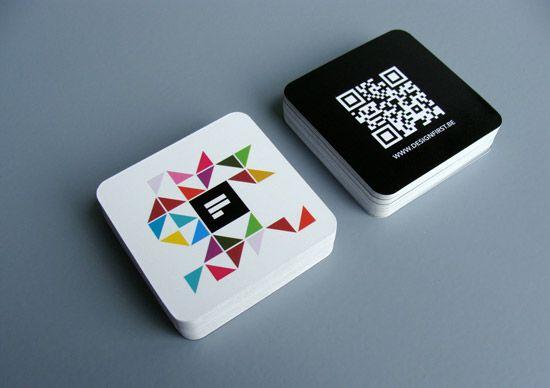 Un Concept De Carte Visite Tres Original Et Innovant Utilisant Le QR Code