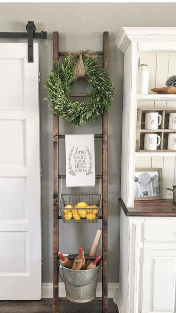 58+ One Simple Trick for Kitchen Decor Ideas Apart... - #Decor #farmhousedecor #...