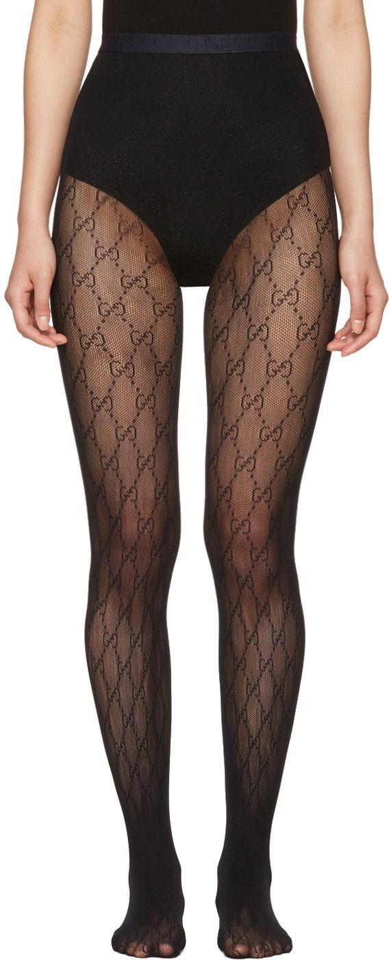 42bc3434223726 Gucci - Black GG Supreme Stockings