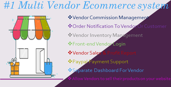 MiMarket Multi Vendor Ecommerce Marketplace - The Complete Multi