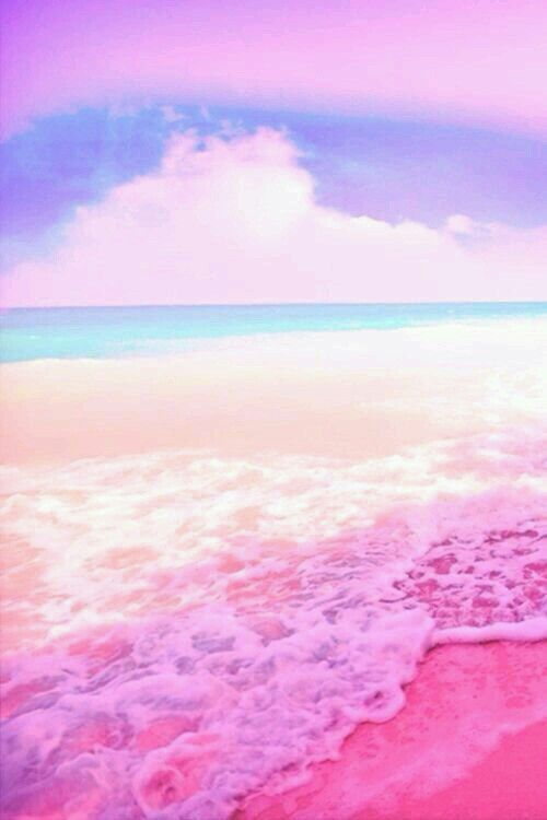 Pink Beach Pink Wallpaper Iphone Cute Wallpaper Backgrounds