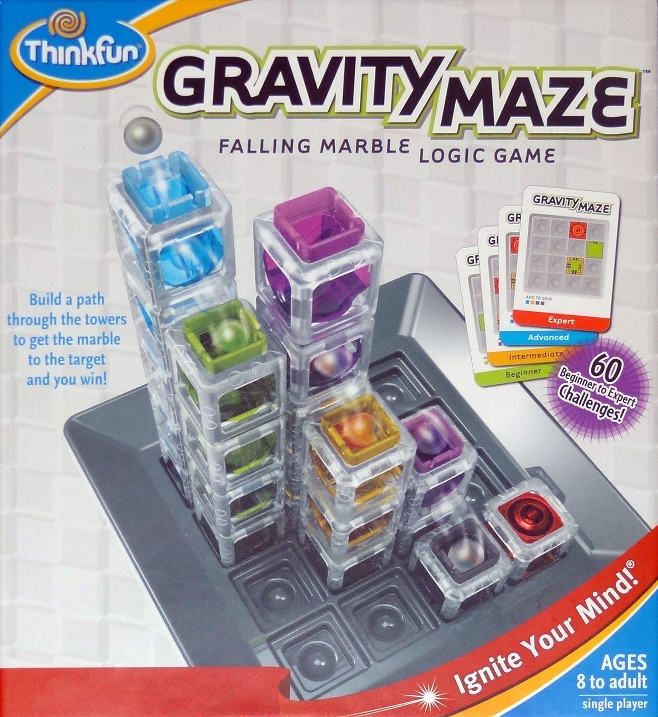 Gravity Maze Game by Thinkfun Logic games, Maze game, Games