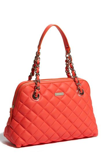 Kate Spade in Flo Coral....now I just need to find an extra $500 ... : kate spade red quilted bag - Adamdwight.com