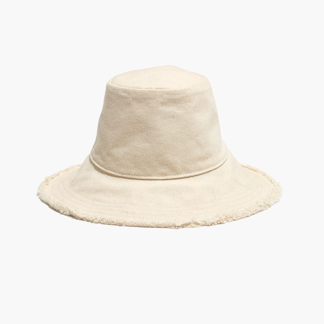676620b93 Madewell Canvas Bucket Hat (Size S-M, Natural) | Products | Canvas ...