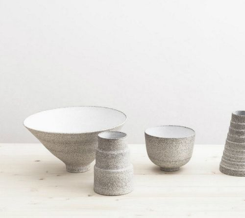 Minimalistische Keramik