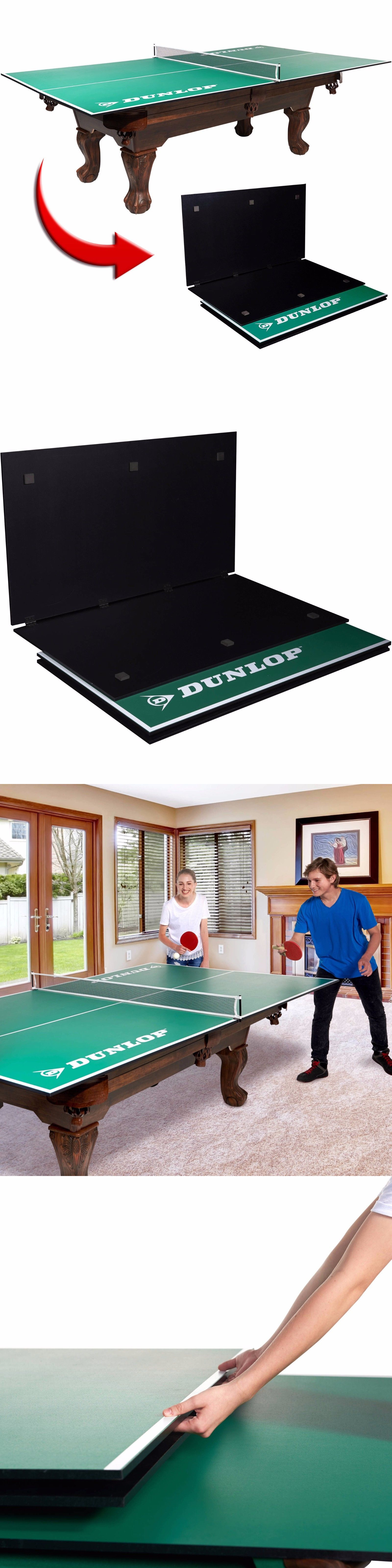 Tables 97075: Dunlop 4 Piece Table Tennis Conversion Top New (Tax Free)