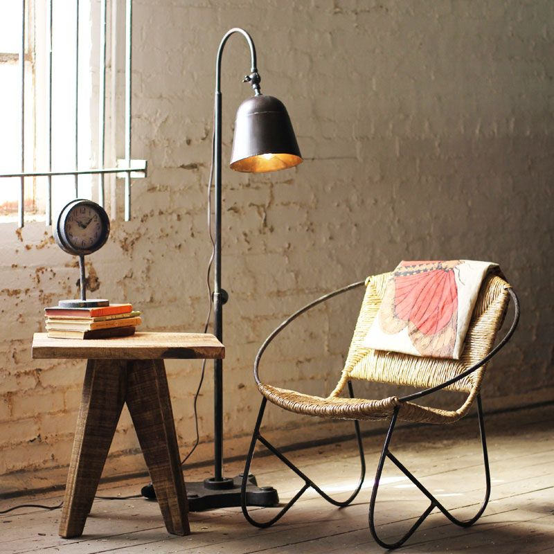Cast-Iron Base Floor Lamp | Home Inspiration | Pinterest | The ...:Cast-Iron Base Floor Lamp,Lighting