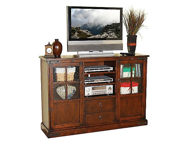 Charmant Santa Fe Antiqued Console | HOM Furniture. 60 Tv StandTall ...