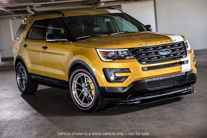 2016 Ford Explorer Sema 2015 Ford Suvs And Crossovers