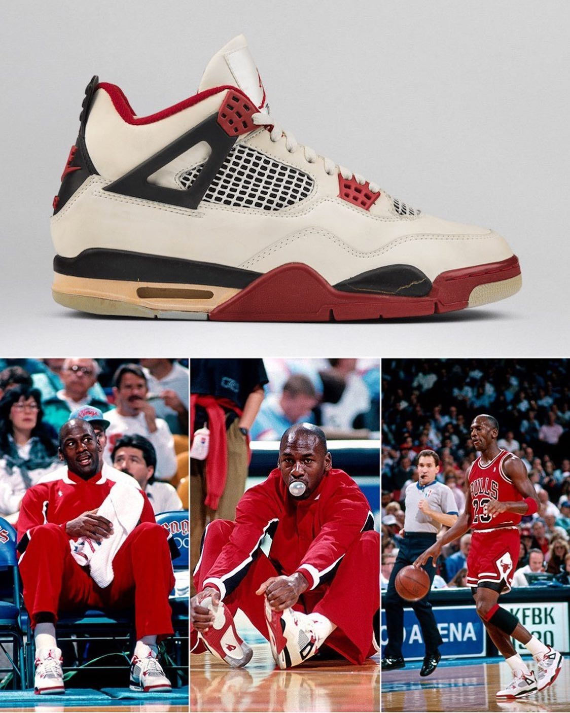 The Air Jordan 4 Fire Red Is Returning Black Friday With Nike Air Like If You Re Buying Sneakerfiles Com In 2020 Air Jordans Jordan 4 Newest Jordans