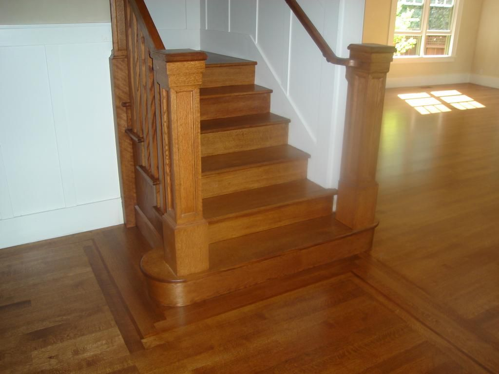 Best Red Oak Floor Stains Quarter Sawn Red Oak Stained Nutmeg 400 x 300