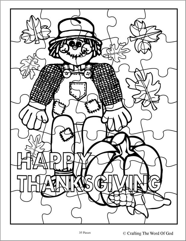 Thanksgiving Puzzle 2 (Activity Sheet) Activity sheets are