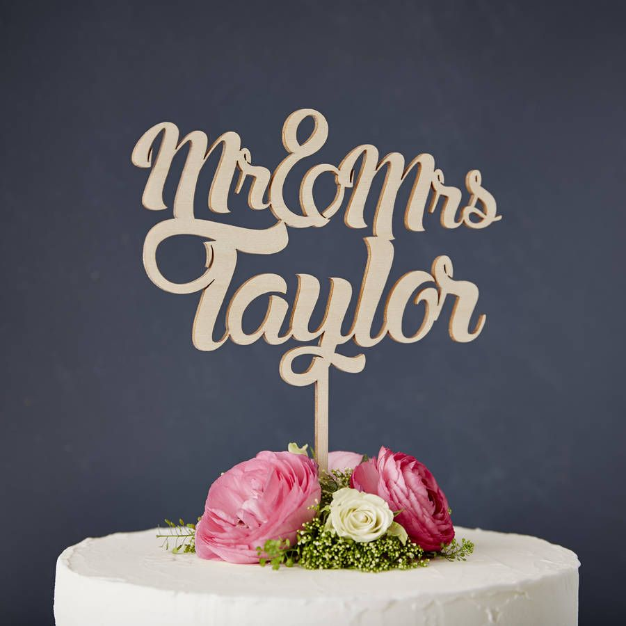 Homemade Cake Toppers Ideas