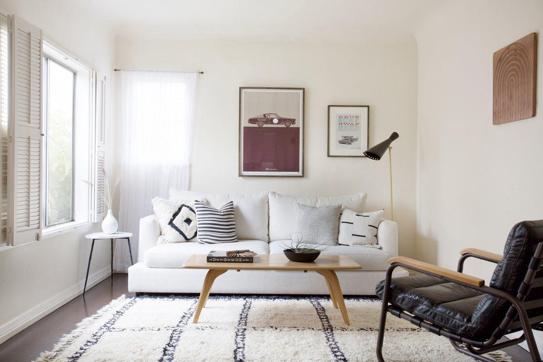 Neutral Organic Modern Living Room   Interior Design, Los Angeles Interior Design, Modern Living Room